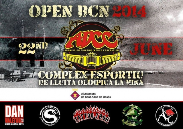 ADCC Submission Fighting Barcelona Open Championships  22.06.2014