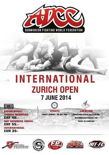 ADCC INTERNATIONAL ZÜRICH OPEN CHAMPIONSHIP 7June 2014